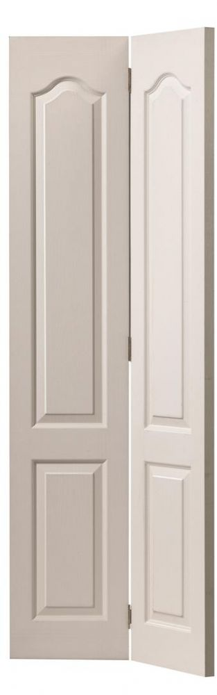 Jb Kind Classique Grained 2 Panel Arched Bi Fold Door
